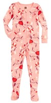 Tea Collection Infant Girl's Caer Fitted One-Piece Pajamas