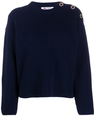 Ports 1961 Crew Neck Knitted Jumper