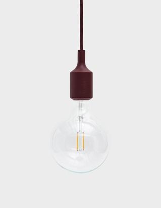 Muuto E27 Pendant Lamp in Burgundy