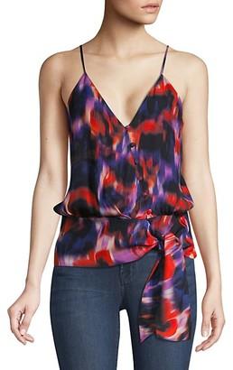 Parker Teresa Heat Wave Side-Tie Top