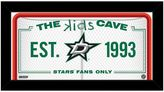 "Steiner Sports Dallas Stars 10"" x 20"" Kids Cave Sign"