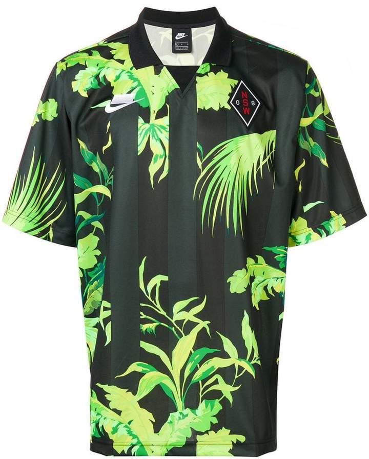Nike palm print football jersey