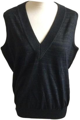 Bouchra Jarrar Black Wool Knitwear