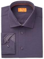Tallia Men's Fitted Stripe Dress Shirt