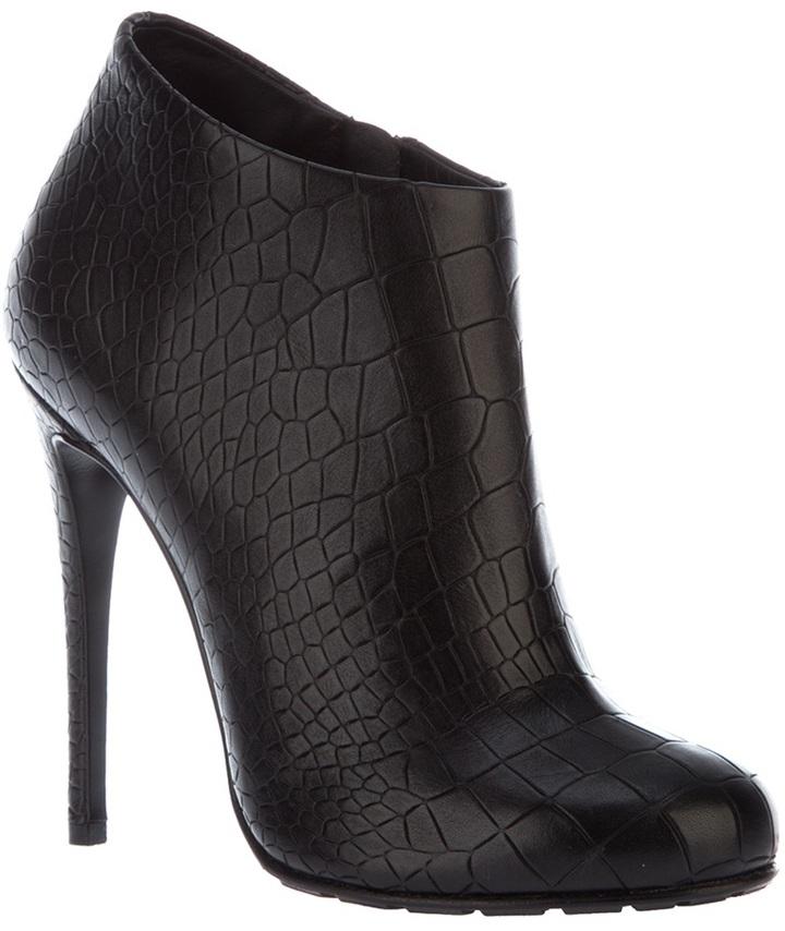 Giuseppe Zanotti Design mock croc ankle boot