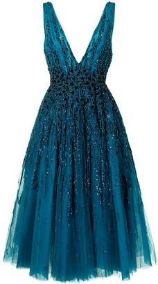 Saiid Kobeisy Bead Embroidered Dress