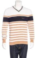 DSQUARED2 Striped V-Neck Sweater