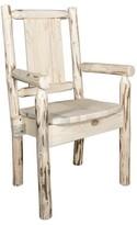 Debbi Rustic Solid Wood Dining Chair Loon Peak Color: Natural