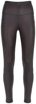 Mint Velvet Black Faux Leather Leggings