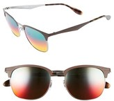 clubmaster sizes  Ray-Ban Women's Highstreet 53Mm Clubmaster Sunglasses