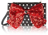 Betsey Johnson Bow Wallet On A String Crossbody