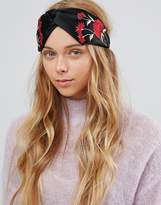 Aldo Floral Knotted Headband