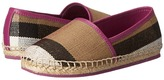 Burberry Espadrille with Check Girl's Shoes