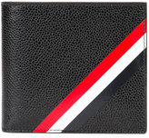 Thom Browne striped billfold wallet - men - Calf Leather - One Size