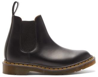 Comme des Garcons X Dr. Martens Graeme Leather Chelsea Boots - Womens - Black