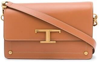 Tod's mini T logo satchel