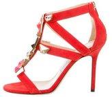 Jimmy Choo Embellished Suede Sandals