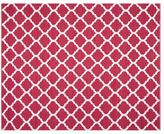 Pottery Barn Becca Tile Reversible Indoor/Outdoor Rug - Pink
