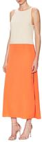 Alice + Olivia Rosy Side Slit Maxi Dress