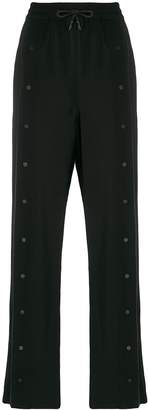 Karl Lagerfeld Paris wide-leg track pants