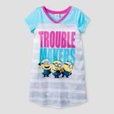 Minions Girls' Minions Nightgown - Blue