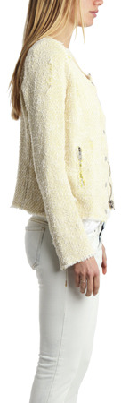 IRO Regan Tweed Blazer in Topaz