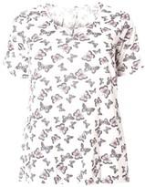 Evans Plus Size Women's Butterfly Print Top