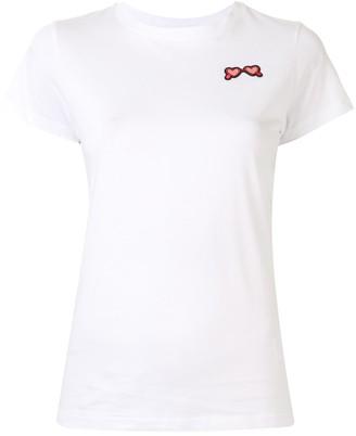 Paule Ka cap sleeve T-shirt