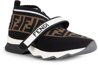 Fendi Rockoko Knit Sneakers