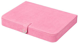 Mele Cameron Plush Fabric Jewelry Box with Thirty-Five Sections