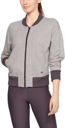 Under Armour Women's UA Unstoppable Terry Full Zip
