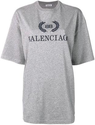 Balenciaga BB print T-shirt