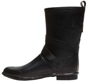 Burberry Buckled Rain Boot (Women)