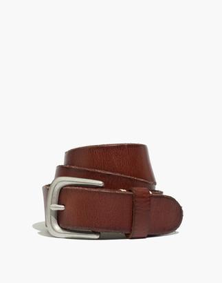 Madewell Narrow Leather Belt