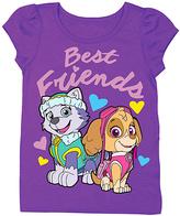 Freeze Grape Violet PAW Patrol 'Best Friends' Tee - Toddler & Girls