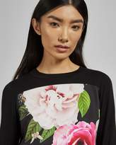 Ted Baker KYNIIE Magnificent front cotton jumper