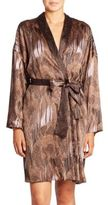 Hanro Adele Botanical Print Robe