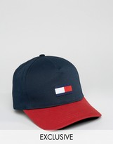 Tommy Hilfiger Retro Baseball Cap Exclusive To ASOS In Navy
