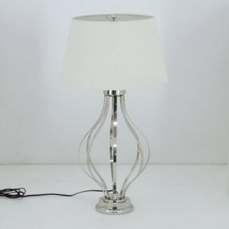 "Basile Brayden Studio Stainless Steel Open Body 24"" Table Lamp Brayden Studio"