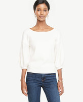 Ann Taylor Lantern Sleeve Sweater