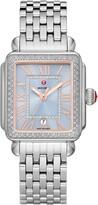 Michele Deco Diamond Bracelet Watch, 33mm x 35mm