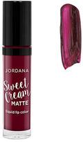 Jordana Sweet Cream Matte Liquid Lip Color - Marsala Wine