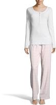 U.S. Polo Assn. Light Blue & Pink Pajama Set