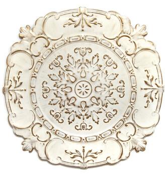 Stratton Home Decor White European Medallion