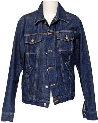 Helmut Lang Blue Cotton Jackets