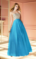 Alyce Paris - Sparkling Strapless Sweetheart Beaded Ballgown 6170