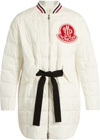Moncler Gamme Rouge Chanel cotton and silk-blend quilted down jacket