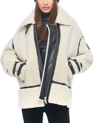 Moose Knuckles Golden Prairie Shearling Jacket