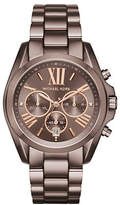 Michael Kors Chronograph Bradshaw Sable Stainless Steel Bracelet Watch