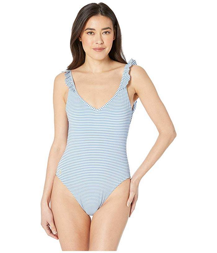 669d62f75d340 Ralph Lauren Ruffle Swimsuit - ShopStyle